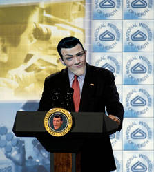 Robbie Rotten for President by ShuyinSpira