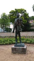 Statue de Van Gogh by MenDan