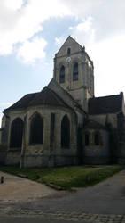 Eglise d'Auvers by MenDan