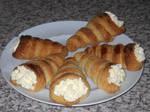 Cream Horns by BisectedBrioche