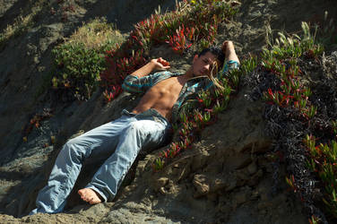 Karlos in the rock flowers by thedreamismine