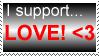 Love stamp by Auras