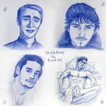 Sketchdump - portraits by Rom1-123