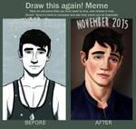 Draw This Again! meme - Snow by Rom1-123