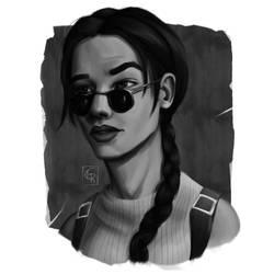 Lara Croft - Tomb Raider II by Rom1-123