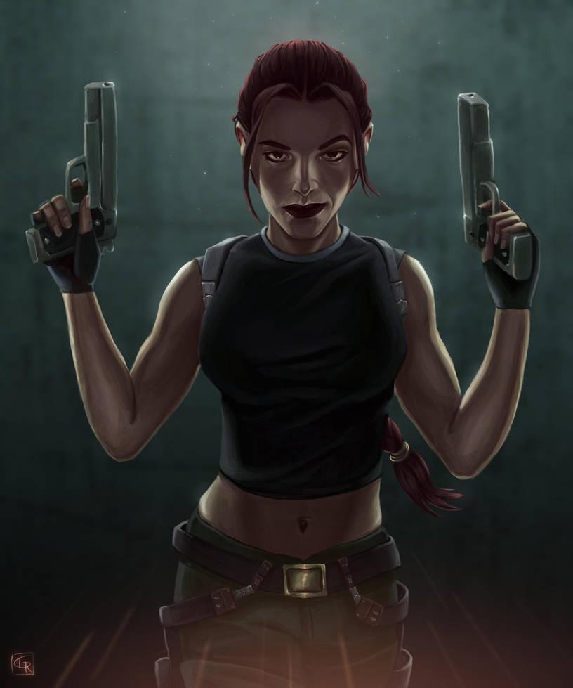 Lara Croft - Tomb Raider : Angel of Darkness by Rom1-123