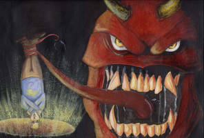 Devil Comes to Dinner by Bikushi