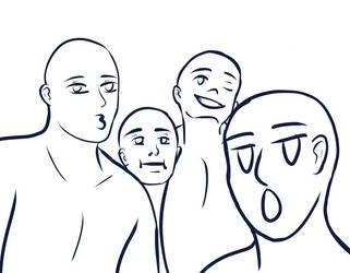 Derp Squad by SaltyFruitato