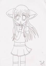 Neko-chan by Valousegawa