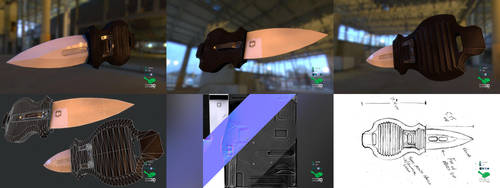 Aegis - Switchblade Concept Prop Model by SASteinhebel