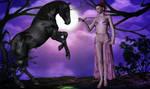 Horse Lady by Poser4U