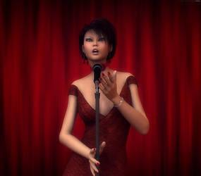The Singer by Poser4U