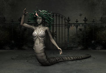 Medusa by Poser4U