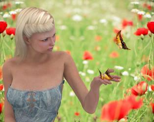 Meadow Girl by Poser4U
