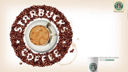 Starbucks Advertisement by georgfx