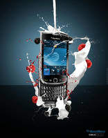 Blackberry Torch 9800 - Advert by georgfx