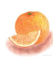 Juicy Orange by AzaliaArt