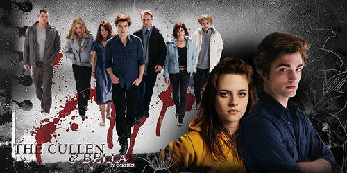 The_Cullen's_and_Bella by carmendelacov