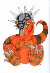 Stygimoloch Chibi Commish by nijil-xnv