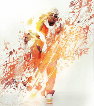 Kanye West by Joannyta