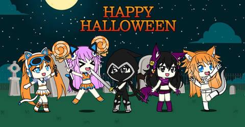 Happy Halloween 2018!!! (Gachaverse) by Blue-Eyes3000