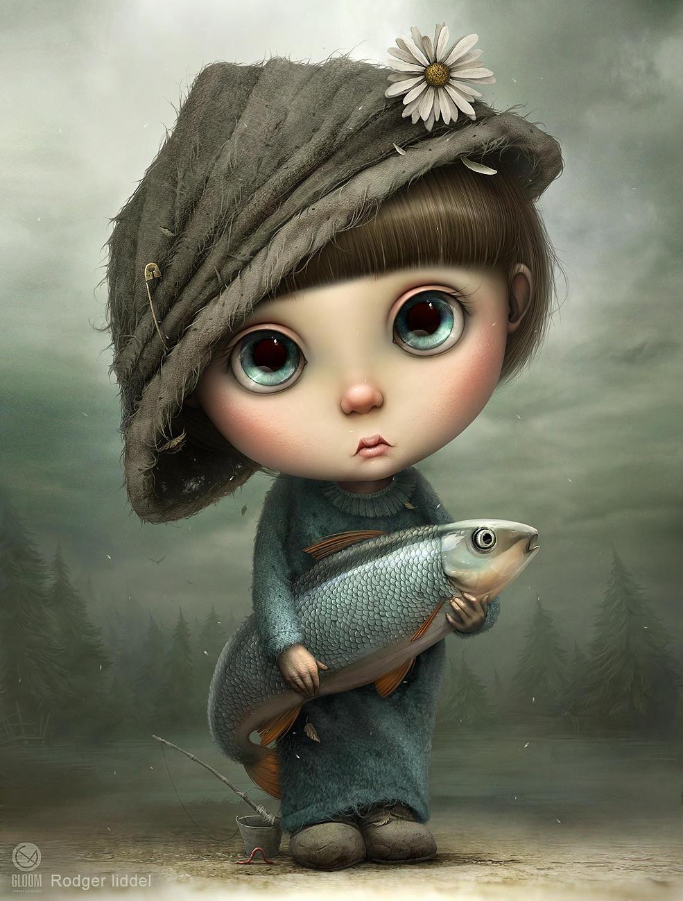 Little Fisherman by Gloom82