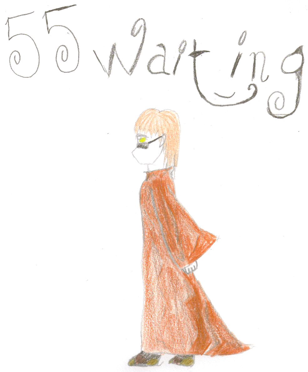 Baxter FanART .:Waiting:. by Kiva-Shirogane