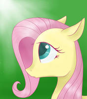 Fluttershy by JustBrohoof