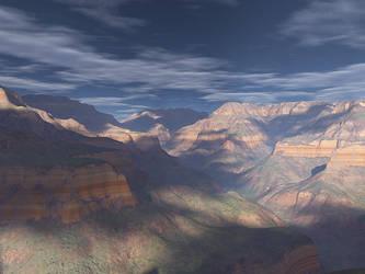 Bright Angel Vista by PatGoltz