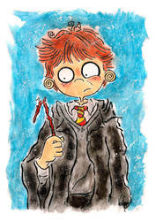 Ron Weasley by DV-Venom