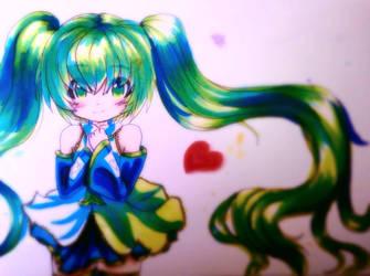 COPIC Green Dream by Darxemnia