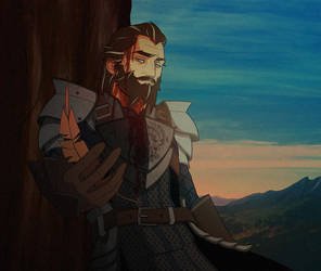 Dragon Age: Blackwall's Redemption by Quincy-Sue