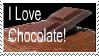 I LOVE CHOCOLATE stamp by coycoy