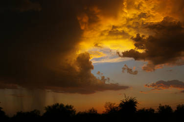 Tucson Sunset IV by quick-with-fear