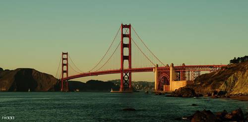 Golden Gate II by riiaaa
