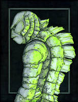 Creature from the Black Lagoon by grantgoboom