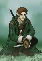 Elven Druid Character by grantgoboom