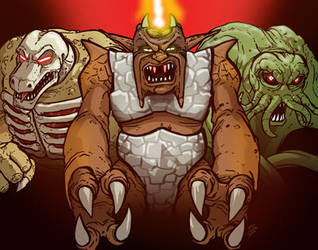 The INHUMANOIDS by grantgoboom