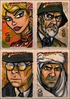 Indiana Jones cards BATCH 2 by grantgoboom
