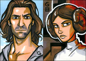 PSCs: Desmond and Leia by grantgoboom