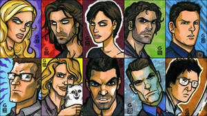 PSCs: Big Batch o' Heroes by grantgoboom
