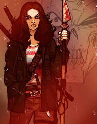 Jess: Hunter of the Dead by grantgoboom