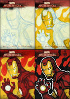 Iron Man MM Card - 4 Steps by grantgoboom