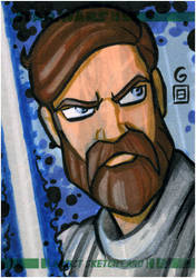 Topps Clone Wars ARC Obi-Wan by grantgoboom