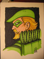 SDCC Sketch: Green Arrow by grantgoboom