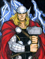 Thor marker commission by grantgoboom