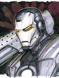 Marker Commission: War Machine by grantgoboom