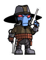 Widdle Cad Bane by grantgoboom