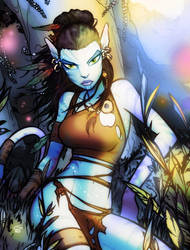 Avatar: Daughter of Pandora by grantgoboom