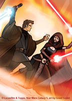 SW Galaxy 5: Anakin vs. Asajj by grantgoboom